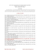 Đề cương Ký sinh trùng thú y 2(nguồn Đinh Công Trưởng)