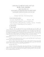 SÁNG KIẾN KINH NGHIỆM CHỦ NHIỆM LỚP 9 THCS