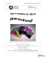 How to prepare for IELTS reading. Tài liệu hay