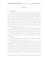 NGHIÊN CỨU PHÂN TÍCH HÀM LƯỢNG As BẰNG PHƯƠNG PHÁP TRẮC QUANG VỚI THUỐC THỬ MOLIPĐAT VÀ ĐÁNH GIÁ Ô NHIỄM NƯỚC NGẦM TẠI XÃ ĐÔNG LỖ  ỨNG HÒA – HÀ NỘI