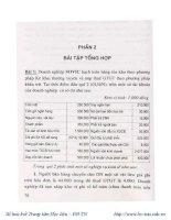Ebook kế toán tài chính   bài tập và lời giải  phần 2