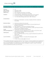Guideline for the intravenous to oral switch of antibiotic therapy
