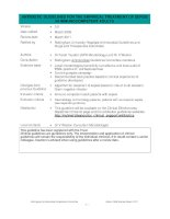 ANTIBIOTIC GUIDELINES FOR THE EMPIRICAL TREATMENT OF SEPSIS IN IMMUNOCOMPETENT ADULTS