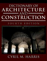 Dictionary of architecture and construction   (malestrom)