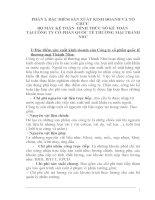 Báo cáo thực hành nghiệp vụ kế toán tại CÔNG TY cổ PHẦN QUỐC tế THƯƠNG mại THÀNH NHƯ