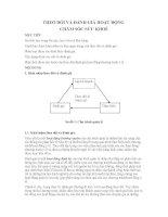 THEO DÕI VÀ ĐÁNH GIÁ HOẠT ĐỘNG  CHĂM SÓC SỨC KHOẺ HƯỚNG ĐẾN SỰ HÀI LÒNG CỦA NGƯỜI DÂN
