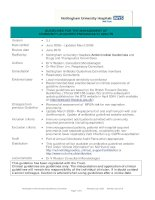 GUIDELINES FOR THE MANAGEMENT OF COMMUNITY-ACQUIRED PNEUMONIA IN ADULTS