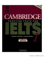 IELTS  Cambridge 1 ( The first step is always the hardest )