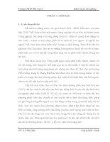 VẬN DỤNG PHƯƠNG PHÁP dạy học TÍCH cực NHẰM NÂNG CAO CHẤT LƯỢNG dạy và học CHƯƠNG i, II