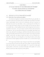 LUẬN văn TÌNH HÌNH tài CHÍNH tại CÔNG TY TNHH một THÀNH VIÊN xây lắp dầu KHÍ hà nội