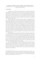 SỰ TRỞ VỀ CỦA NHỮNG NGƯỜI LAO ĐỘNG VIỆT NAM TẠI HÀN QUỐC KINH NGHIỆM ĐA QUỐC GIA, NHẬN THỨC CHÍNH TRỊ CỦA NGƯỜI LAO ĐỘNG VÀ SỰ HỢP TÁC KHU VỰC ĐÔNG Á
