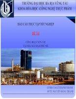BÁO cáo THỰC tập tốt NGHIỆP đề tài CÔNG đoạn nén CO2 tại NHÀ máy đạm PHÚ mỹ