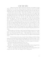 Hoàn Thiện Quy Trình Phân Tích Tín Dụng, Biện Pháp Nâng Cao An Toàn Hoạt Động Tín Dụng Với Các Công Ty Sản Xuất Vật Liệu Xây Dựng Tại NHNT Quảng Ninh