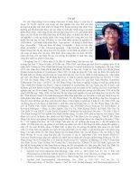 Tác giả TS. BS. Phạm Hùng Vân là Giảng Viên môn Vi Sinh, Khoa Y, Đại Học Y Dược TP. HCM