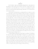 """Tieu luan TƯ TƯỞNG HỒ CHÍ MINH VỀ """"VẤN ĐỀ CÁN BỘ"""" VÀ Ý NGHĨA CỦA NÓ TRONG  SỰ NGHIỆP XÂY DỰNG ĐỘI NGŨ CÁN BỘ"""