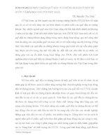 KINH NGHIỆM PHÁT TRIỂN QUỸ ĐẦU TƯ CHỨNG KHOÁN Ở MỘT SỐ NƯỚC VÀ BÀI HỌC ĐỐI VỚI VIỆT NAM