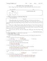 đề kiểm tra tiếng việt học kỳ 2 lớp 3