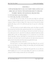 MỘT SỐ GIẢI PHÁP CHỦ YẾU GÓP PHẦN NÂNG CAO HIỆU QUẢ SỬ DỤNG VỐN KINH DOANH TẠI CÔNG TY CỔ PHẦN CHẾ TẠO  MÁY ĐIỆN VIỆT NAM – HUNGARY