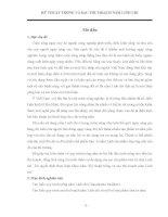 Khóa luận Kỹ thuật trồng và sau thu hoạch nấm Linh chi
