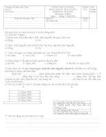 tổng hợp đề thi cuối học kỳ 2 lớp 4