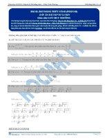 Bài tập bất đẳng thức có lời giải (phần 2)-Trần Phương
