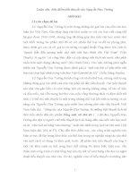Luận văn Đặc điểm tiểu thuyết của Nguyễn Huy Tưởng