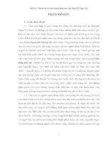 Đề tài  Nhân vật trẻ em trong sáng tác của Nguyễn Ngọc Tư