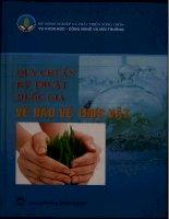 Quy chuẩn kỷ thuật quốc gia về bảo vệ thực vật