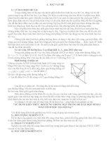 sử dụng kiến thức đối xứng trong mặt phẳng để giải một số bài toán Oxy _ tác giả Thầy Tuấn
