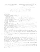 BIÊN BẢN BÀN GIAO MẶT BẰNG XÂY DỰNG, CÔNG TRÌNH GÓI THẦU SỐ 3 - DỰ ÁN XÂY DỰNG NHÀ ĐIỀU HÀNH SẢN XUẤT TRUYỀN TẢI ĐIỆN HÒA BÌNH