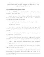 ĐÁNH GIÁ QUÁ TRÌNH THỰC HIỆN HOẠT ĐỘNG GIAO NHẬN HÀNG hóa XUẤT KHẨU BẰNG ĐƯỜNG BIỂN tại CÔNG TY ĐÔNG tài