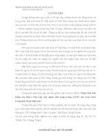 Phân Tích Ảnh Hưởng Của Đầu Tư Trực Tiếp Nước Ngoài Đến Tăng Trưởng GDP Của Việt Nam Trong Giai Đoạn Hiện Nay