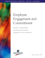 Employee Engagement and Commitment (SHRM)