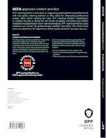 ACCA f3 financial accounting BPP revision kit 2017 - Tài liệu