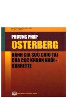 Ebook phương pháp osterberg đánh giá sức chịu tải của cọc khoan nhồi barrette phần 1  PGS  TS  nguyễn hữu đẩu