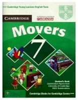 Tests movers 7 book