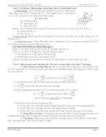 tài liệu ôn thi học kỳ 2 lớp 11 môn vật lí