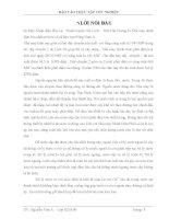Báo cáo thực tập tốt nghiệp: xử lý nước lò hơi của Nhà máy Nhiệt Điện Phả Lại