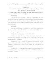 MỘT SỐ BIỆN PHÁP TÀI CHÍNH CHỦ YẾU NHẰM NÂNG CAO HIỆU QUẢ SỬ DỤNG VỐN LƯU ĐỘNG Ở CÔNG TY CP GỐM VÀ XD HẠ LONG I