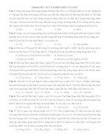 Bài tập về Sắt và hợp chất của Sắt có đáp án