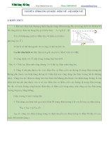 vật lý 11, lý thuyết và bài tập theo chủ đề CÔNG CỦA LỰC ĐIỆN  ĐIỆN THẾ  HIỆU ĐIỆN THẾ.