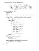 NGÔN NGỮ MÔ TẢ PHẦN CỨNG HDL code mau FSM