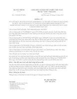 THÔNG TƯ SỬA ĐỔI MỨC THUẾ SUẤT THUẾ NHẬP KHẨU ƯU ĐÃI ĐỐI VỚI MỘT SỐ MẶT HÀNG TẠI BIỂU THUẾ NHẬP KHẨU ƯU ĐÃI BAN HÀNH KÈM THEO THÔNG TƯ SỐ 1642013TTBTC NGÀY 15112013 CỦA BỘ TRƯỞNG BỘ TÀI CHÍNH ĐỂ THỰC HIỆN CAM KẾT WTO NĂM 2015