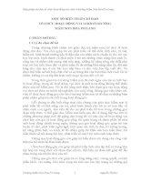 MỘT SỐ BIỆN PHÁP CHỈ ĐẠO  TỔ CHỨC HOẠT ĐỘNG VUI CHƠI Ở TRƯỜNG  MẦM NON HOA PƠ LANG