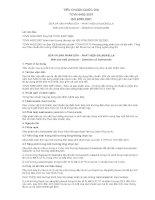 Tiêu chuẩn Quốc gia TCVN 64022007  ISO 67852001 (SỮA VÀ SẢN PHẨM SỮA – PHÁT HIỆN SALMONELLA)