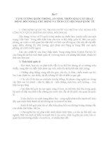 Bài 7 TĂNG CƯỜNG QUỐC PHÒNG, AN NINH, TRIỂN KHAI CÁC HOẠT ĐỘNG ĐỐI NGOẠI; CHỦ ĐỘNG VÀ TÍCH CỰC HỘI NHẬP QUỐC TẾ
