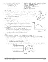 đề thi co so công nghệ chế tạo máy spkt
