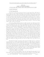 SKKN MỘT VÀI KINH NGHIỆM CUNG CẤP VỐN TIẾNG VIỆT CHO TRẺ DTTS 56 TUỔI