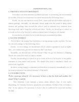 Chủ đề viết từ bài 6 đến bài 9 môn tiếng Anh lớp 9