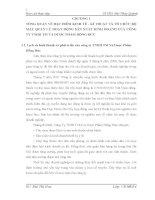 TÌNH HÌNH tổ CHỨC kế TOÁN tại CÔNG TY TNHH TM và dược PHẨM HỒNG đức